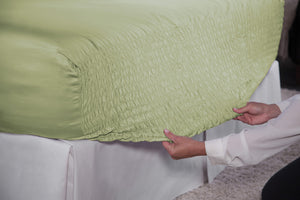 Sage Bed Tite Sheet Set