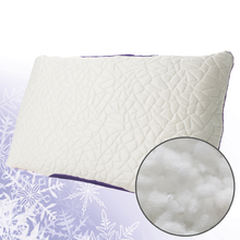 SNOW Cooling Pillow With Down Alternative Fill, Queen Size