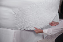 White Bed Tite Sheet Set