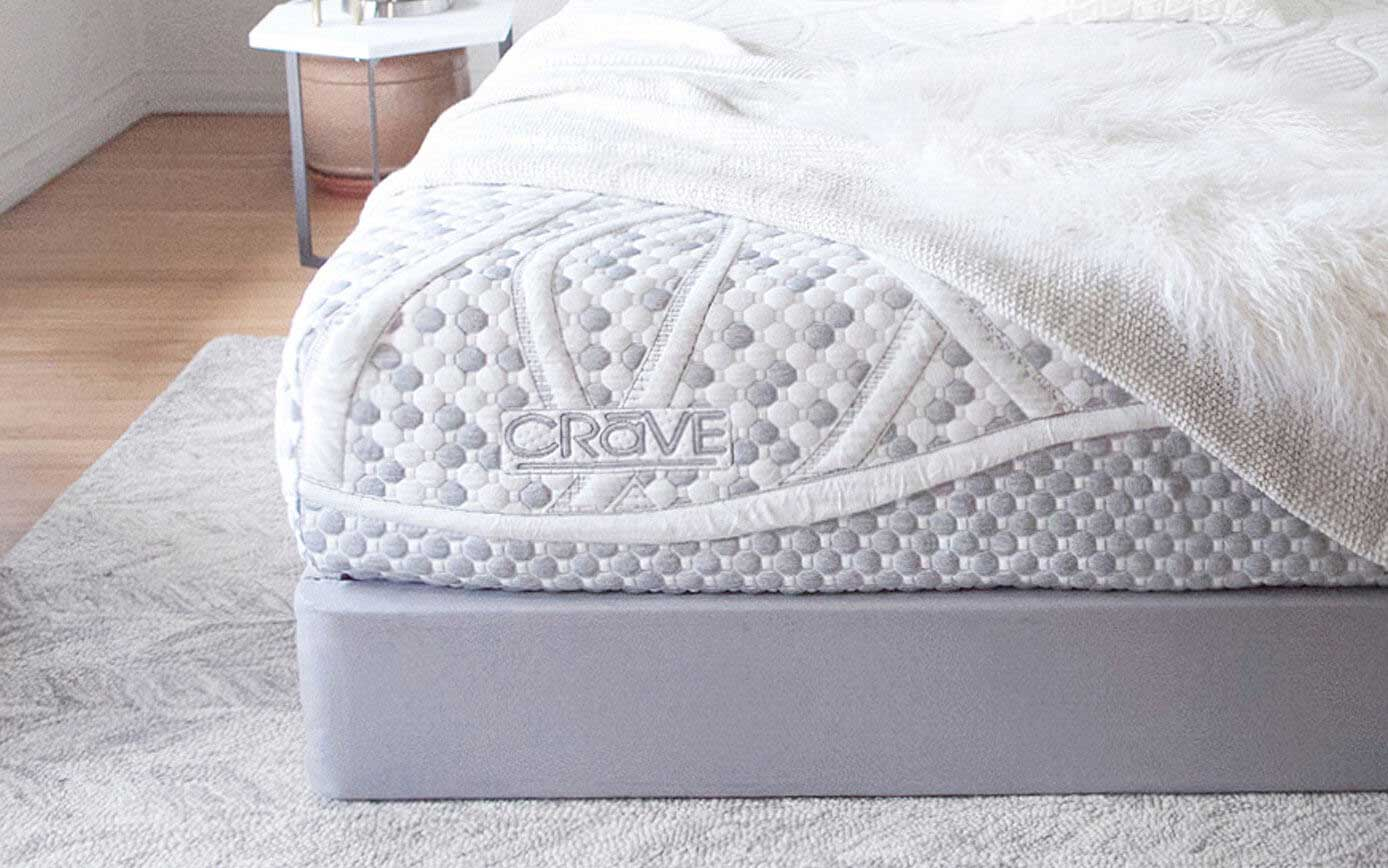 12 Inch Crave Mattress Diagram