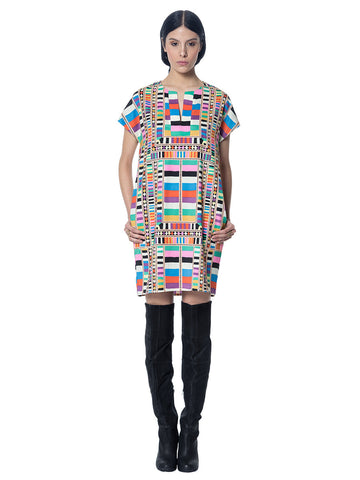 Tunic Dress in Raiser Rainbow - Mara Hoffman