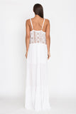 Veuve Dress in White - Aila Blue