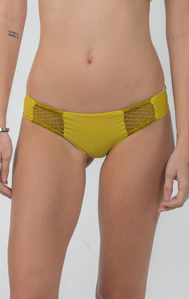 Poppy Bottom in Pineapple - 2017 Acacia Swimwear