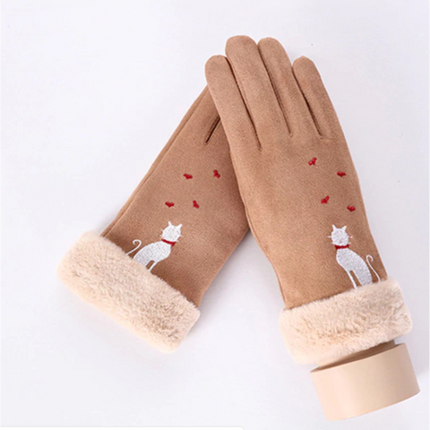 Warm Smartphone Compatible Gloves