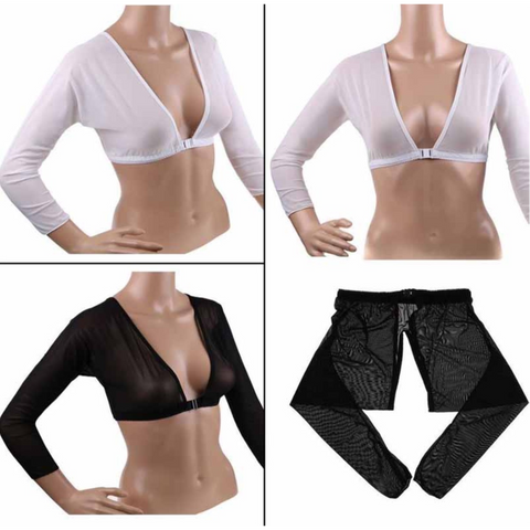 Image of Shapewear Sexy Crop Tops