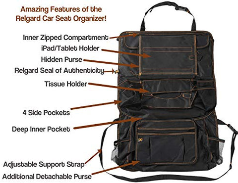 Image of Relgard Car Backseat Organizer