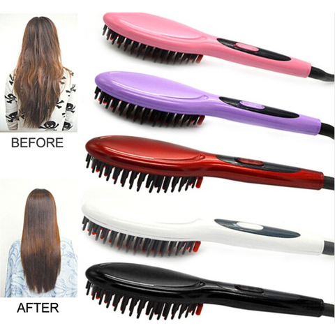 Image of Electric Hair Straightening Brush