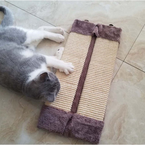 Image of Cat Scratching Post with Catnip