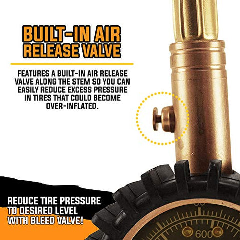 Image of Relgard Tire Pressure Gauge