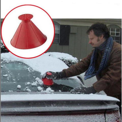 Image of Windshield Snow and Ice Scraper
