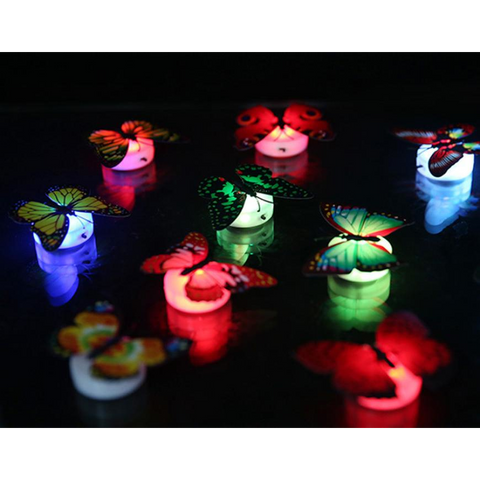 Image of Color Changing Butterfly Mood Lights