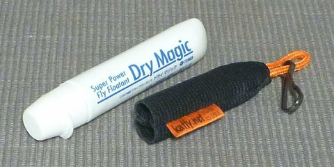 Floatant holder for Tiemco Dry Magic