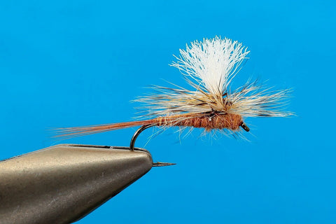 March Brown Parachute - Half Dozen or Dozen
