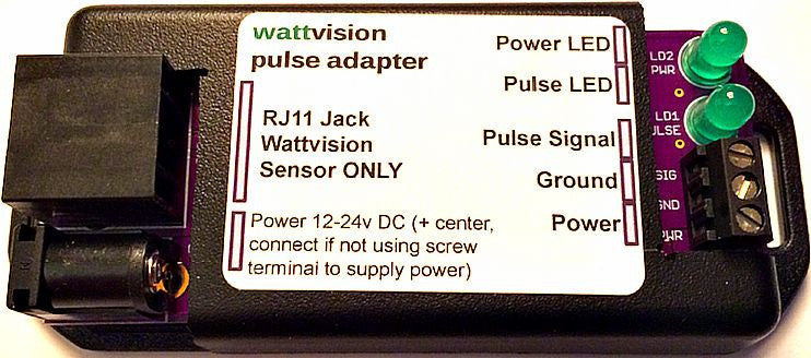 Wattvision Pulse Output Adapter