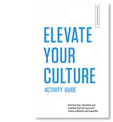 Elevate Your Culture Activity Guide (Digital Download)
