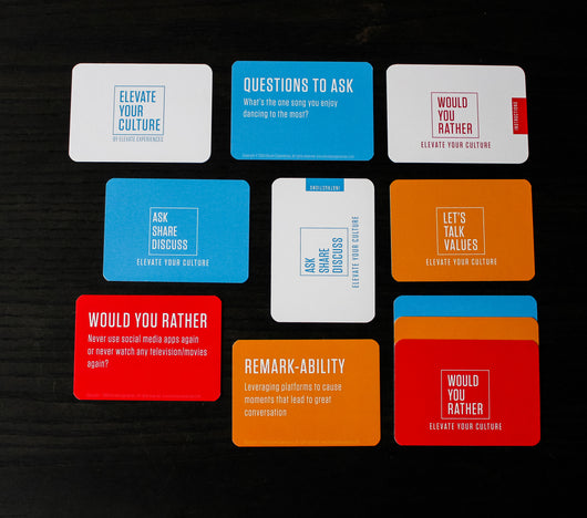 Elevate Your Culture - Culture Cards  (Digital Download)