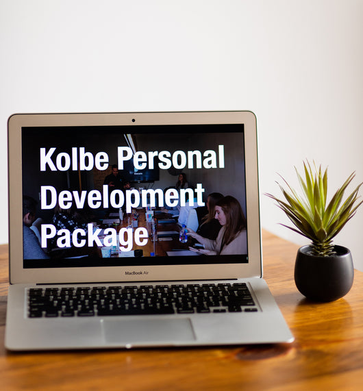 Kolbe A Package (Digital or In Person)