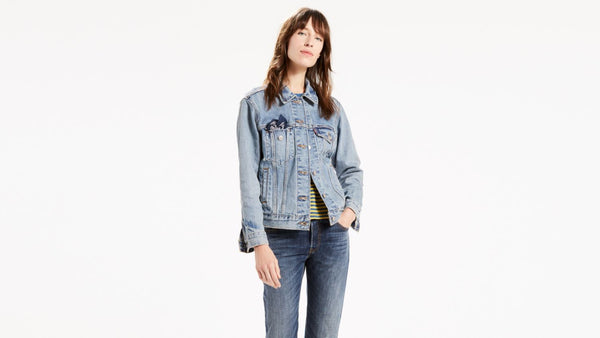 Levis Womens Ex-Boyfriend Trucker Jacket
