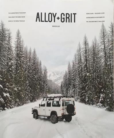 Alloy + Grit Winter 2017 Magazine