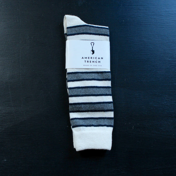 American Trench Triple Stripe Socks