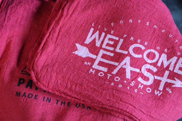 2016 Welcome East Moto Show Shop Rag