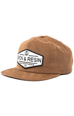 Iron and Resin Terrain Hat