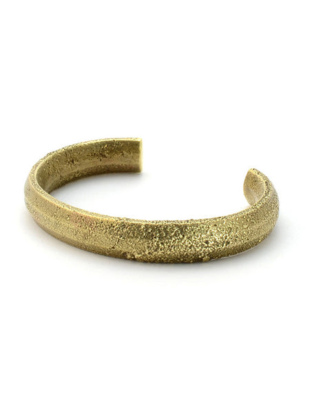 Cat Bates Token Cuff Bronze