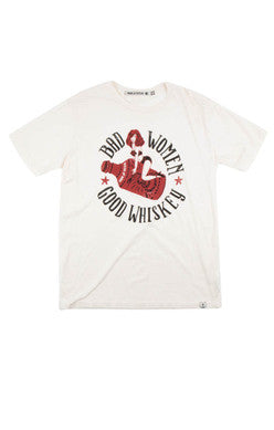 Iron & Resin - Bad Women Good Whiskey Tee