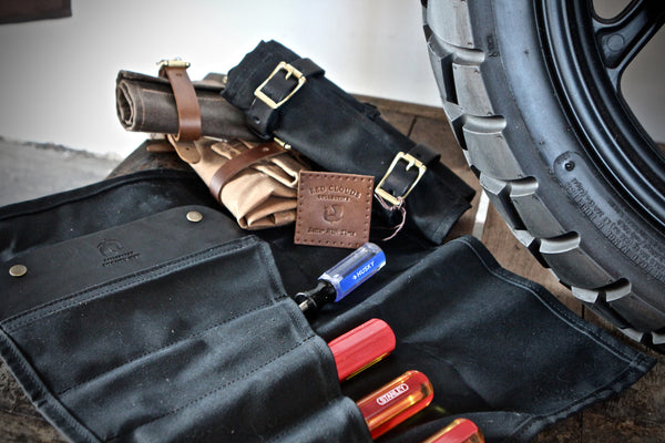Red Clouds Landseer Tool Roll