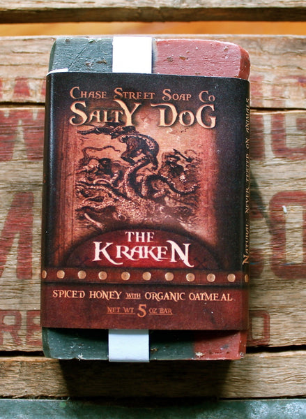 Salty Dog Mens Soaps from Chase Street Soap Co