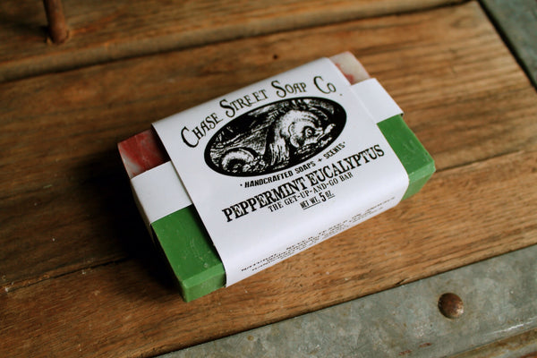 Basic olive oil soaps from Chase Street Soap co.
