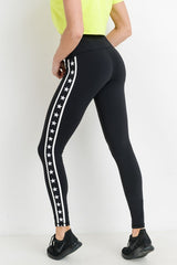 'Star Performer' Leggings - Black