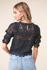 'Romeo Romeo' Blouse - Black