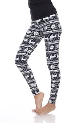 'Deer Valley' Print Leggings