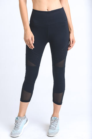 'Ninja Warrior' Leggings - Black