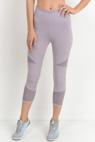 'Ninja Warrior' Leggings - Lavender