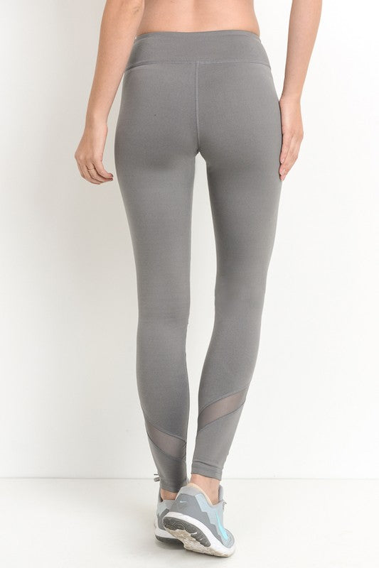 'Game Point' Leggings - Mocha