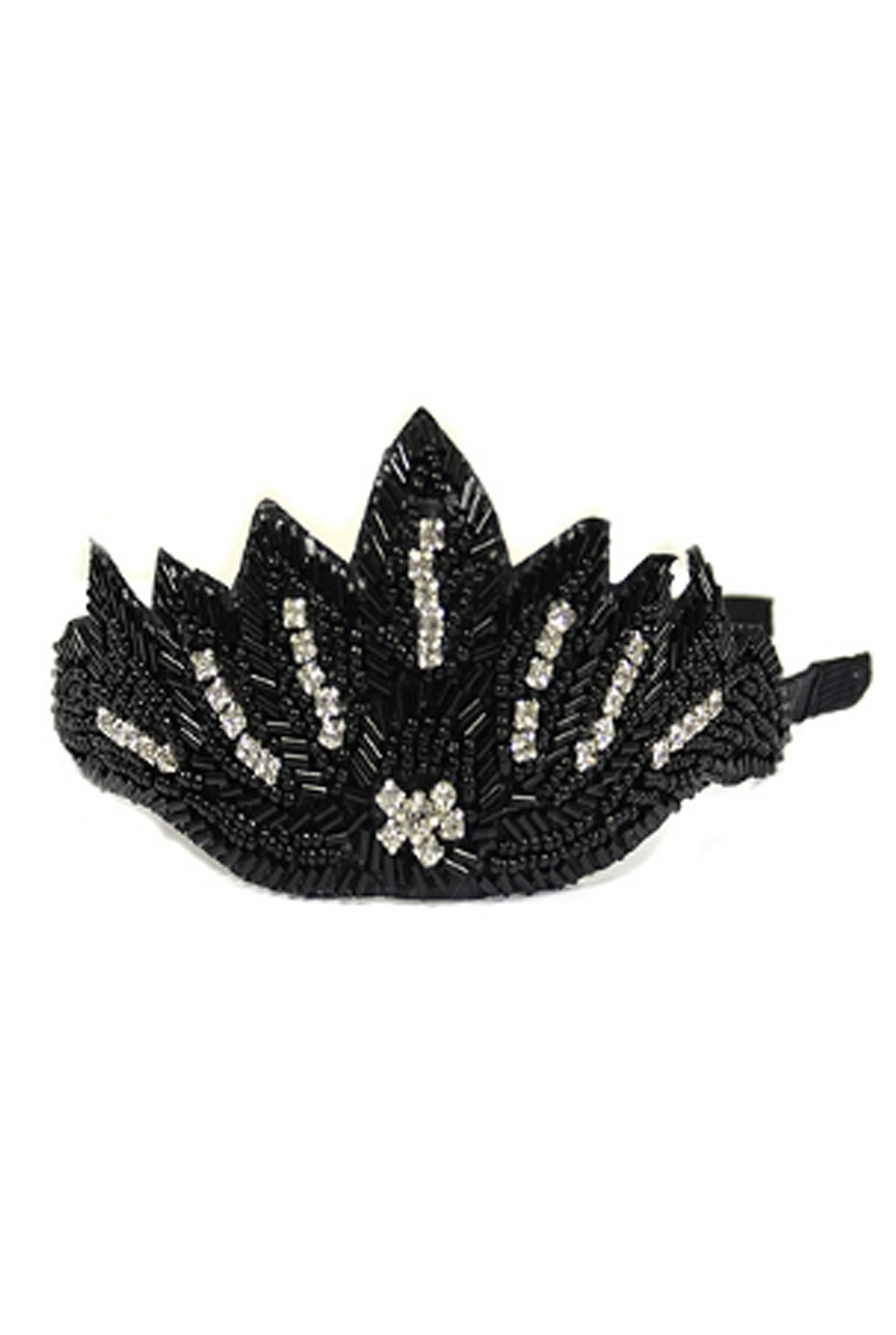 'The Charleston' Headband - Black