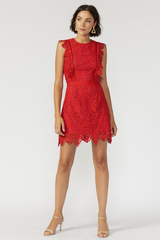 'Le Damion' Lace Dress