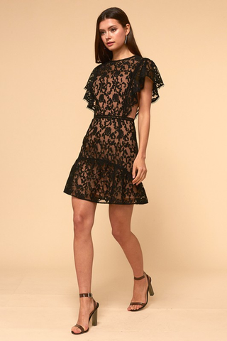 'The Edith' Lace Dress