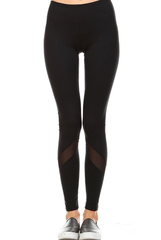 'Game Point' Leggings - Black