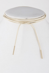 'Out West' Choker Necklace - Ivory
