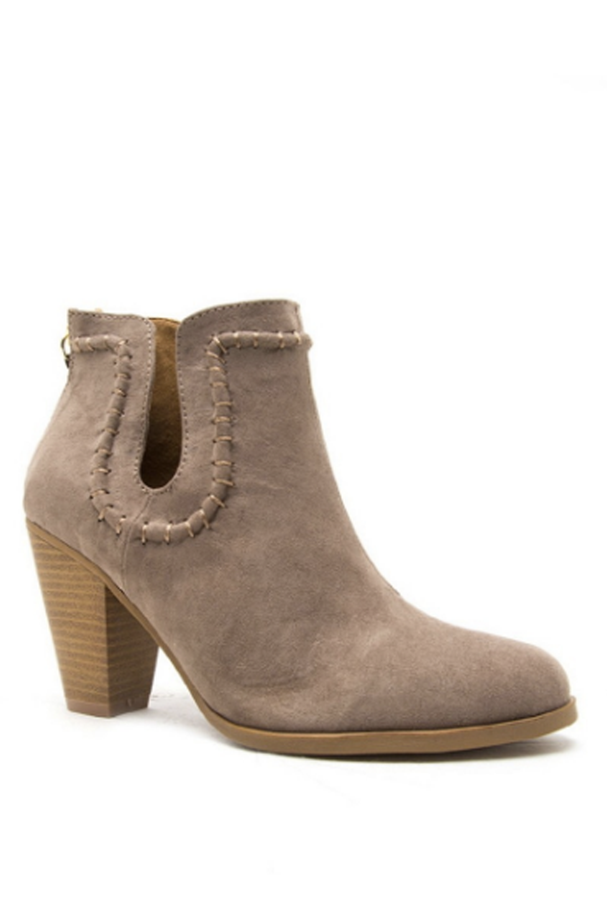 'Lucky Horseshoe' Bootie - Taupe