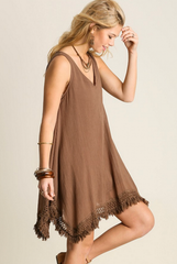 'Run Into the Wild' Dress - Mocha
