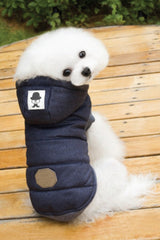 'Up To Utah' Dog Jacket - Navy