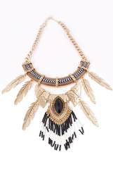 'Ojibwe Feather' Necklace