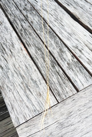 'Tease Me' Tassel Necklace