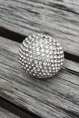 'Fortune Teller' Crystal Ball Ring