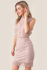 'Be Mine' Dress - Mauve