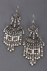 'Gypsy Thief' Earrings - Silver